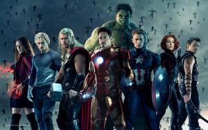 En av affirscherna till Avengers - Age of Ultron