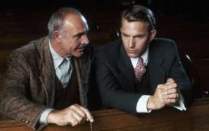 Sean Connery och Kevin Costner i De omutbara