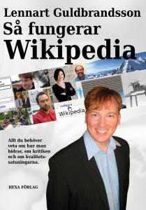 Omslag till en av världens första böcker om Wikipedia
