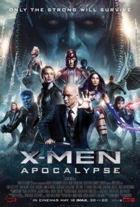 Affischen till X-men Apocalypse