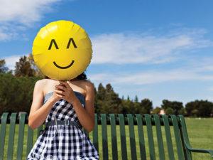 Ballonger är alltid glada.