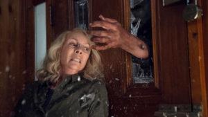 Jamie Lee Curtis i Halloween från 2018.